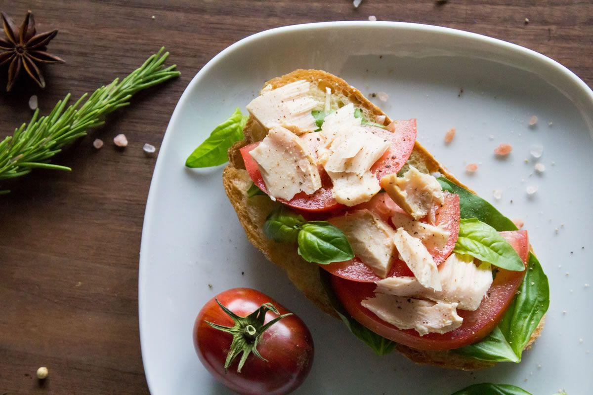 Albacore tuna sandwich spread