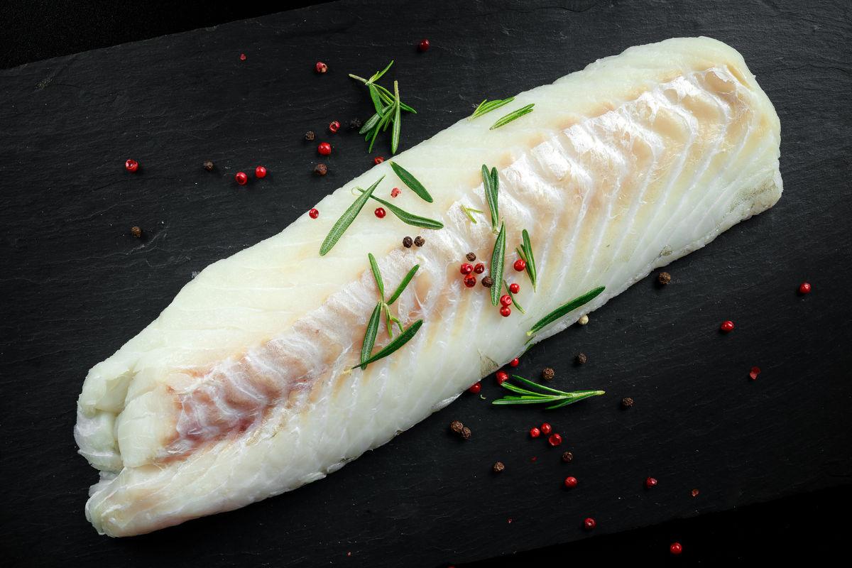 Black cod fresh fillet